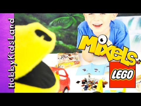 Mixel Lego Build + Play with Pac-Man HobbyFrog n' HobbyPig by ...