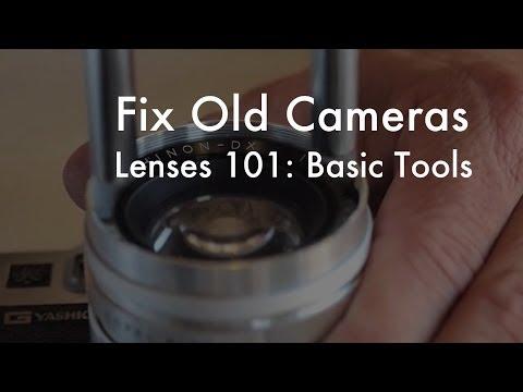 Fix Old Cameras: Basic Lens Repair Tools