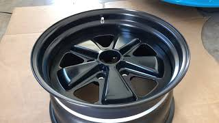 Fikse Fuchs Wheels Rims Porsche 911 Custom 3 Pc. Forged Replicas Same As Singer
