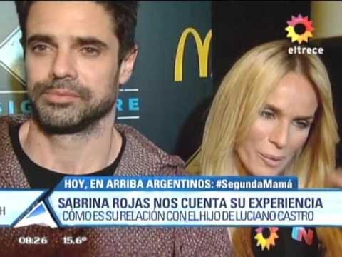 Sabrina Rojas habló de su vínculo con Mateo, el hijo de Luciano Castro