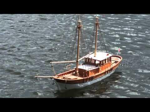 RC modelboat Bodrum Guleti
