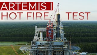 Jan. 16: Artemis I Hot Fire Test