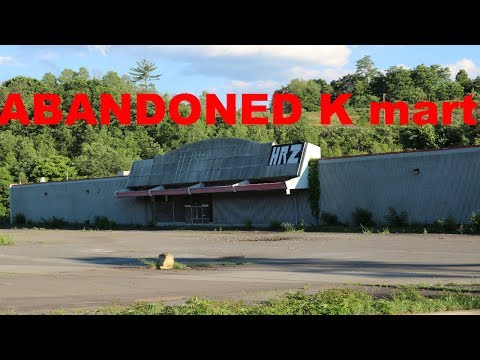 exploring an ABANDONED K mart in PA