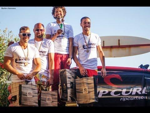 Compétition marocaine de bodysurf Mehdia 2014