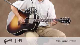 GIBSON  / アコースティックギター J-45 サウンドサンプル ギブソン 検索動画 14