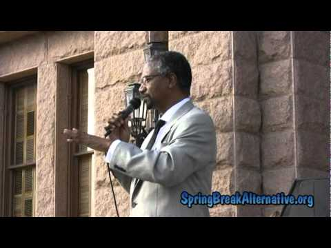 Rep. Harold Dutton at Texas Capitol Rally During 2011 Anti-Death Penalty Spring Break