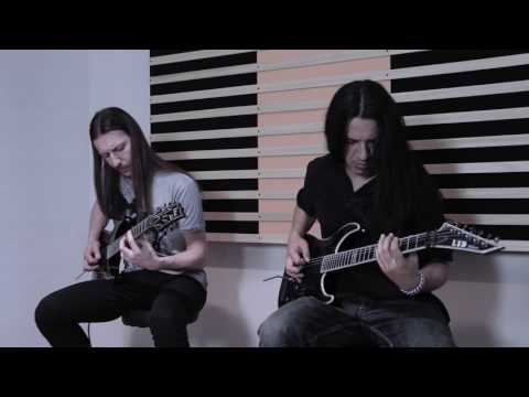 "ADE - Across the Wolf's Blood Guitar Playthrough by ""Nero"" and ""Fabivs"""