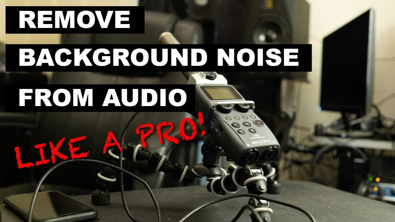 How to Remove Background Noise and Hiss From Audio | Logic Pro X & Izotope  RX Tutorial