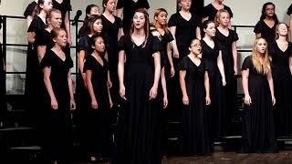 Go Down Moses - CCHS A Cappella Choir 2015-10-01