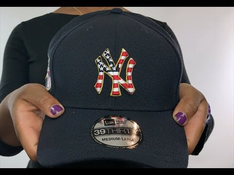 f9086ed5bd618 Yankees  2018 JULY 4TH STARS N STRIPES FLEX  Navy Hat by New Era ...