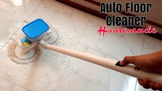 Automatic Floor Cleaning Machine - Homemade