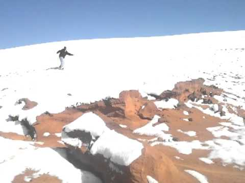 Tuba City Arizona Navajo Snow boarding