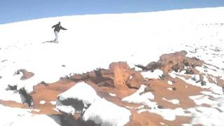 Tuba City Arizona Navajo Snow boarding