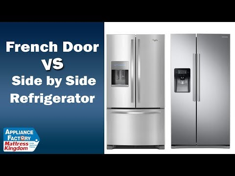 French Door Refrigerator Vs. Side by Side Refrigerators