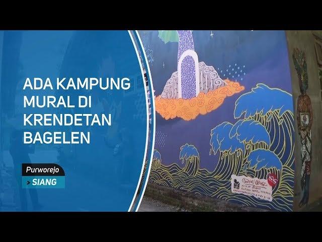 Ada Kampung Mural di Krendetan Bagelen