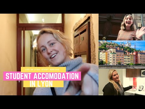 STUDENT ACCOMODATION in Lyon, France | Study Abroad Tips