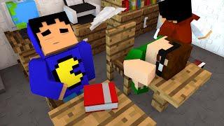 Minecraft: MORRENDO NA ESCOLA!   Death Run Mini-Game