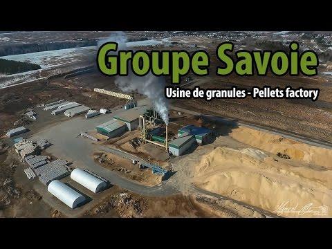 Groupe Savoie - Usine de granules - Pellets factory