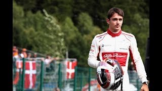 Charles Leclerc Driver Formula 1 One Grand Prix GP Full Car Race Live News Highlights