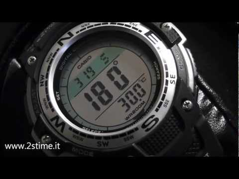 af4445516 2S Time - CASIO SGW 100 1V Digital Compass Temperature Twin Sensor Watch