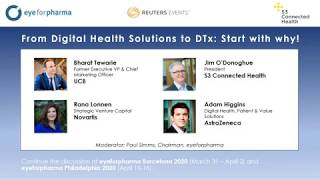 Webinar: From Digital Health Solutions to DTx  Start with why!