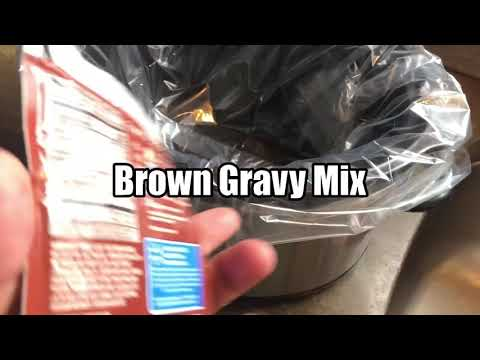 How To Make Brown Gravy Country Slow Cooked Ham