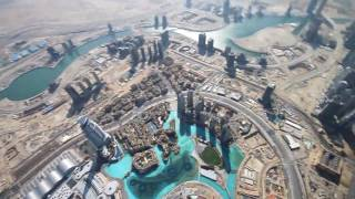 On the top of Burj Dubai (Detailed Description)
