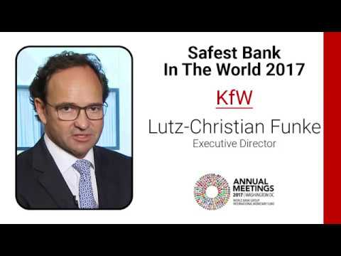 KfW judged 'World's Safest Bank' for 2017