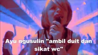 Fear and loathing in las vegas - Swing it Misheard lyrics (kocak abiieesss)