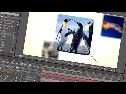 12. After Effects: Tutorial Slideshow 3D com DOF