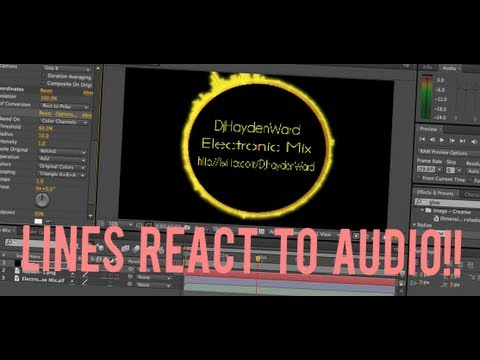 Adobe After Effects Tutorial: Lines That React To Music