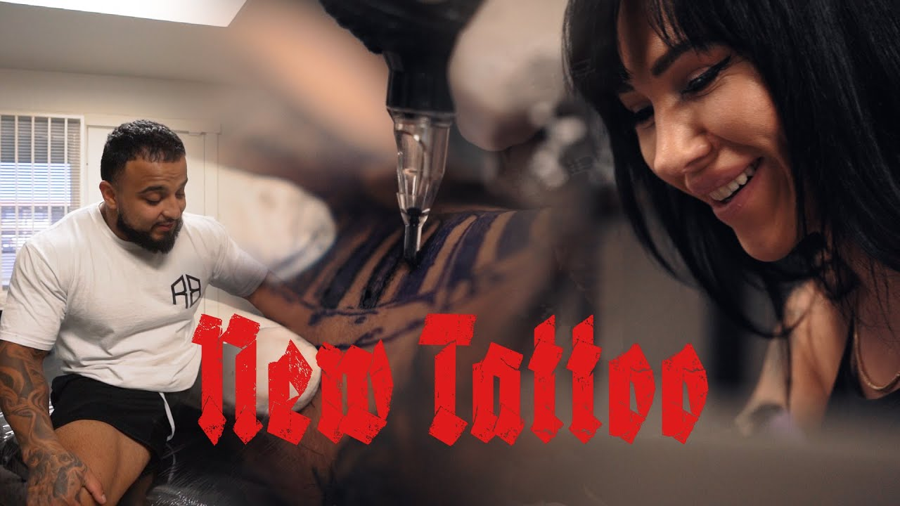 The Best female Tattoo Artist in the World! | Sofia Souza | NEW TATTOO