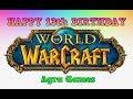 Warcraft Turns 13! World Of Warcraft 13th Anniversary Event! INFO!