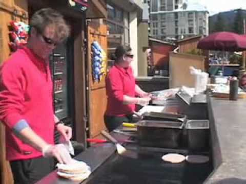 Working in Whistler Blackcomb as a food station worker