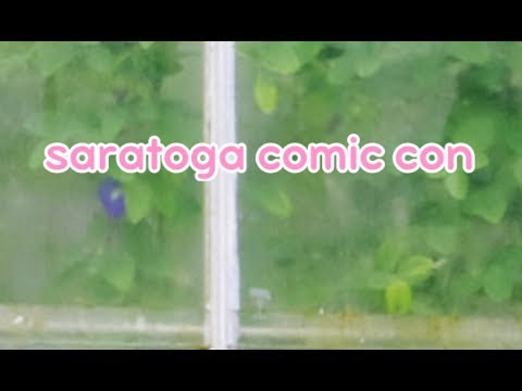 UPCOMING SARATOGA COMIC CON DETAILS Feat. Sam Chase