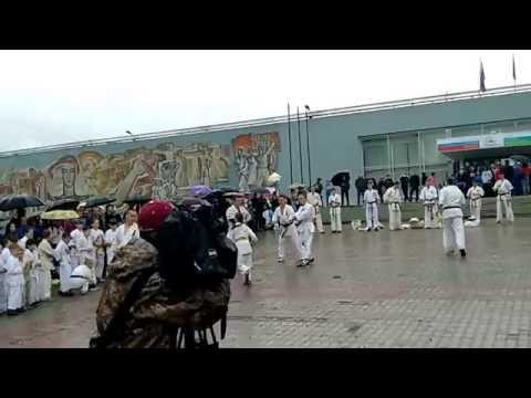 Показательное выступление  Клуба Медведь г. Комсомольск на Амуре на день города 12.06.2016