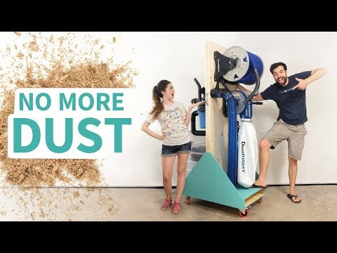 Fully-Loaded Dust Collection Cart!!