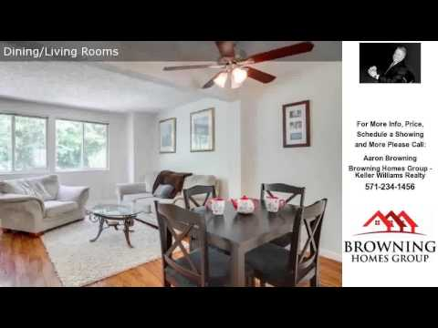 8633 KENOSHA CT, LORTON, VA Presented by Aaron Browning.