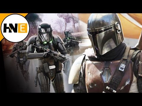 Star Wars The Mandalorian Death Troopers REVEALED