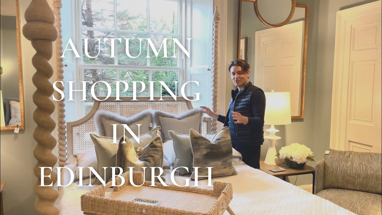 Download Fall Shopping In Edinburgh -  Exploring autumn trends in home styling, plus a delicious cake recipe!