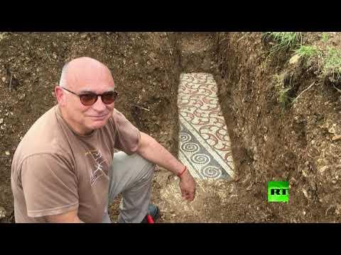 اكتشاف فسيفساء رومانية محفوظة بشكل جيد تحت كرم عنب في إيطاليا  - نشر قبل 5 ساعة
