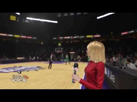 Doris Burke interviews invisible player and runs away LMAO