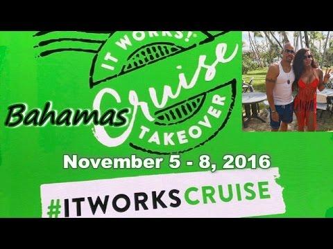 IT WORKS BAHAMAS CRUISE 2016 - Jamie and Erana Tyler