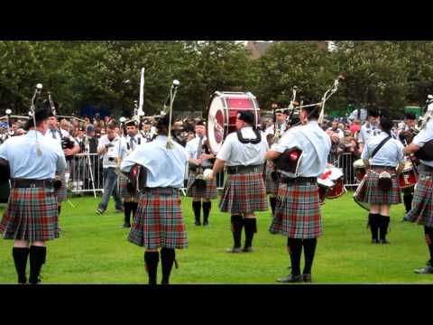 New York Metro Pipe Band, Grade 3B Championship - Final, The Worlds 2011.