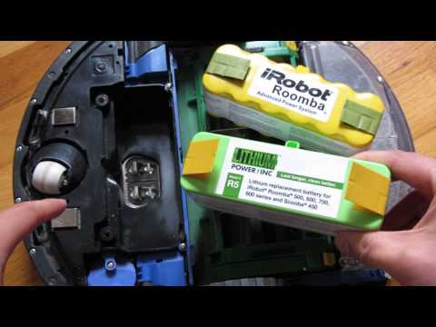 iRobot Roomba Lithium Battery Part 4 - Performance Test Review