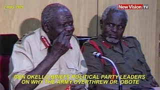 After the fall of Obote  in 1985