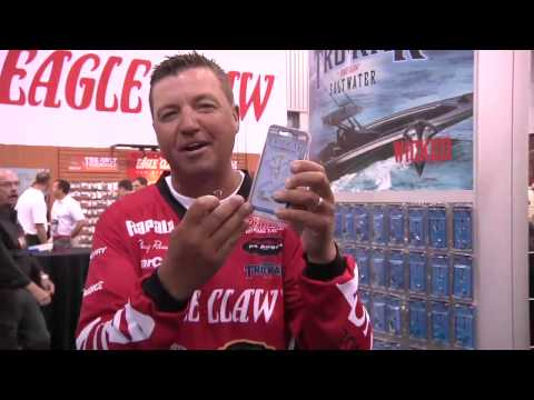 New Trokar Revolve Hooks With Tony Roach | ICAST 2013