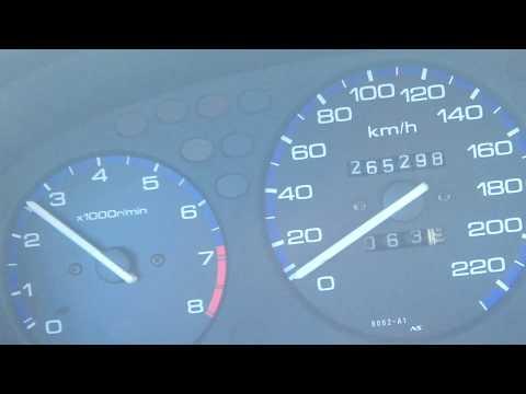 B16A Sir II JDM acceleration 0-100
