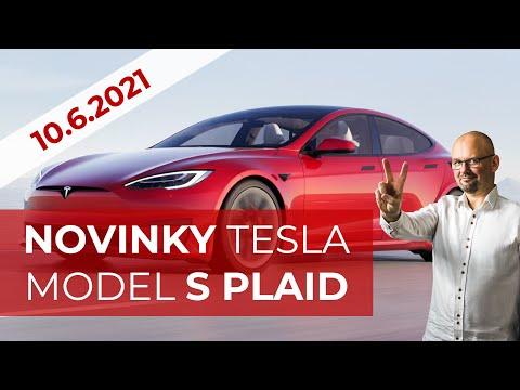 TESLA MODEL S PLAID 3.6.2021
