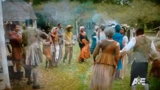 "History Channel's ""Roots"" (TV Series 2016) Beautiful Wedding Song & Dance Scene"